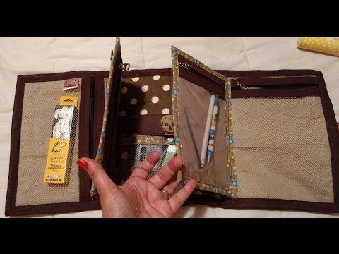 Necessaire livro - YouTube Canal Artes da Lelezynha