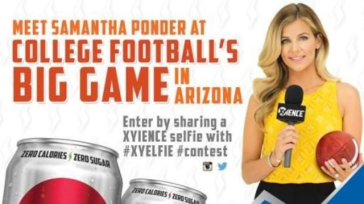 samantha ponder xyience | XYIENCE® re-launches with refreshed brand, college football marketing