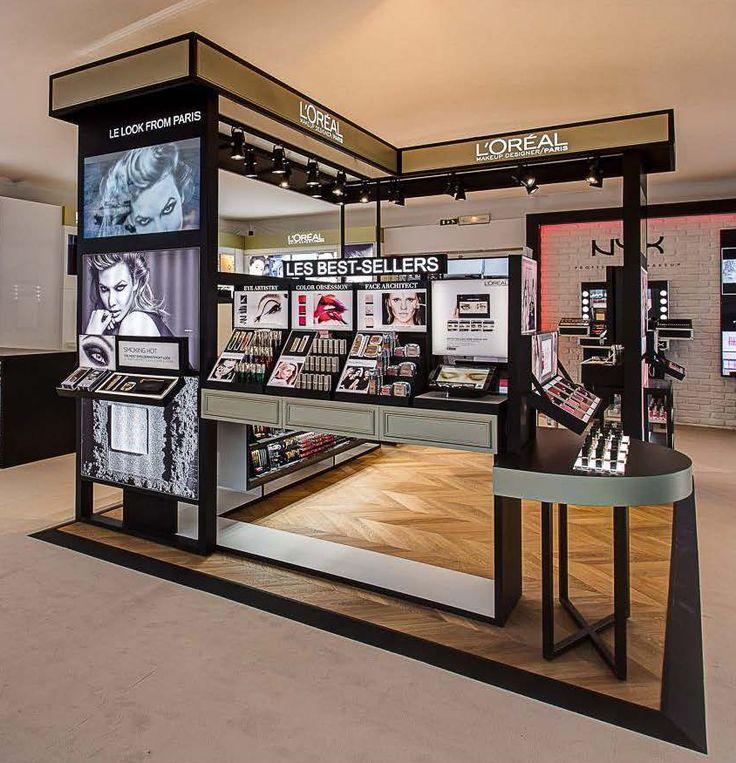 L'Oréal Modèle de magasin de détail, Orlane, Exhibition