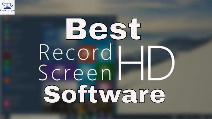 Best screen recorder for Windows/Mac
