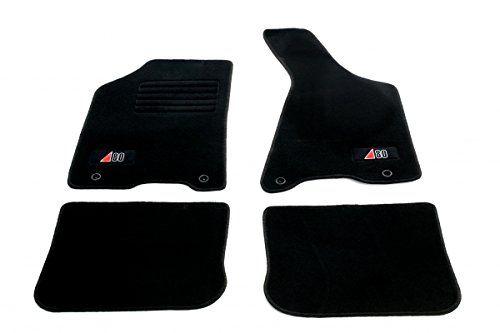 Auto Fußmatten Velours mit Logo Set 4-teilig passgenau, schwarz #Auto #Fußmatten #Velours #Logo #teilig #passgenau, #schwarz