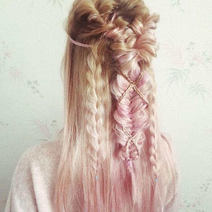 #hair #braid #plait #hairstyle #hairdo #haircut #coiffure  #princess #magic #boho #bohohair #magichair #hairinspiration #bohobraids #girls #style #прическа #косички #косичка #pink #ideasforgirl #lookbook #newlook #look #lookfortoday #fashion #fashionstyle #mood #wedding #ideasforwedding #bride #cute #awwsome #amazing
