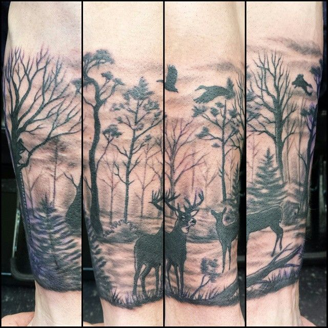 awesome Top 100 hunting tattoos - http://4develop.com.ua/top-100-hunting-tattoos/
