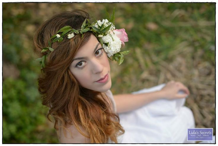 Our proposal for bridal makeup  by Lida' s Secrets Spring-Summer '14 Inspiration: Boho-Earth