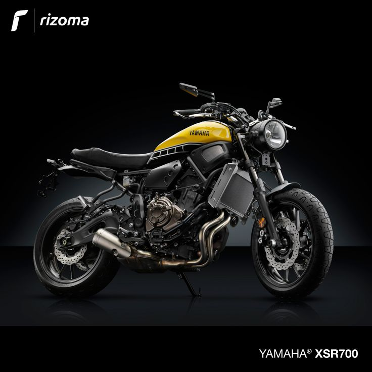 rizoma accessory line for yamaha xsr 700 rizoma pinterest. Black Bedroom Furniture Sets. Home Design Ideas