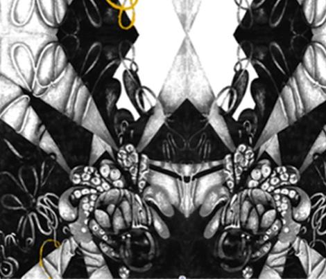 Jungle tumble fabric by babido on Spoonflower - custom fabric