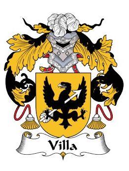 Escudo heráldico apellido Villa                              …