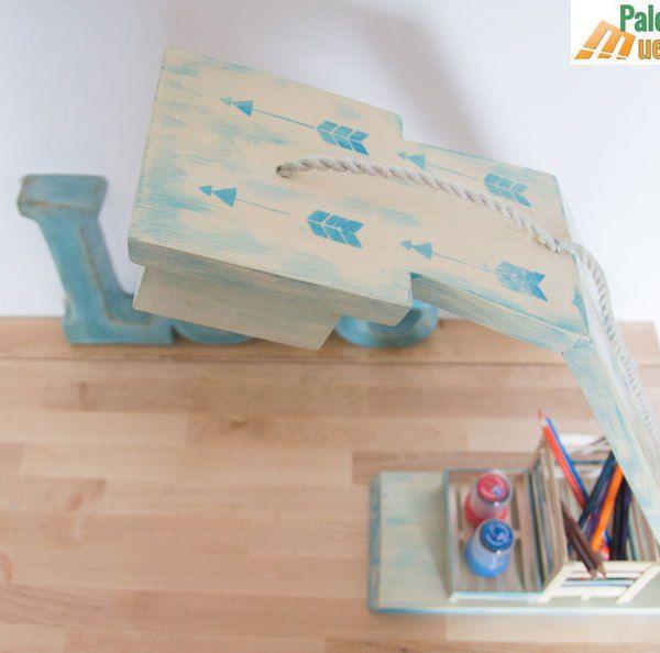 flexo de diseño hecho con tablas de palets
