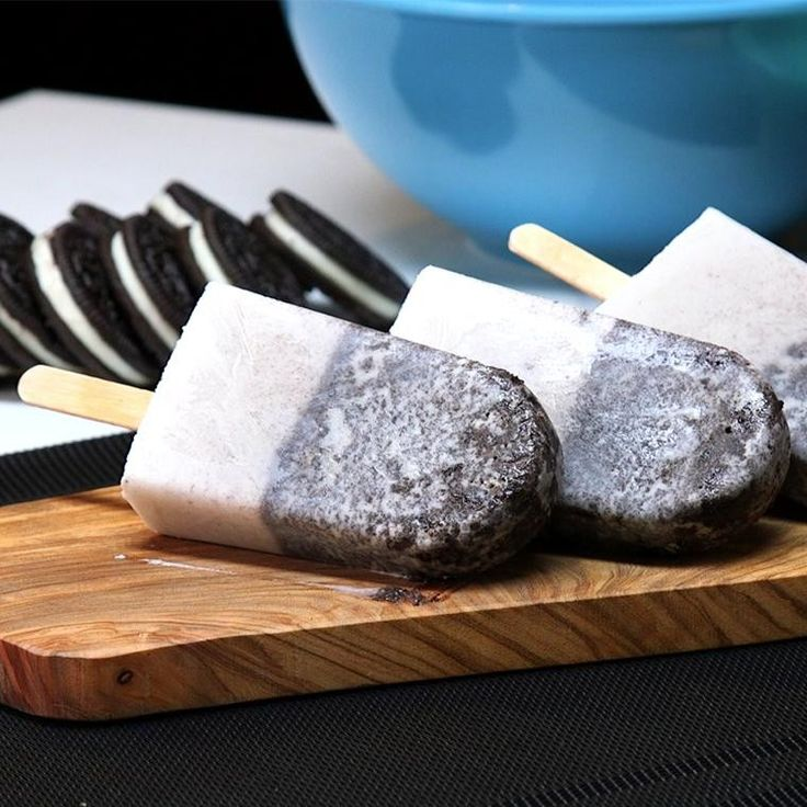 Kick Off Popsicle Season With Cookies and Coconut Cream Pops - Shared