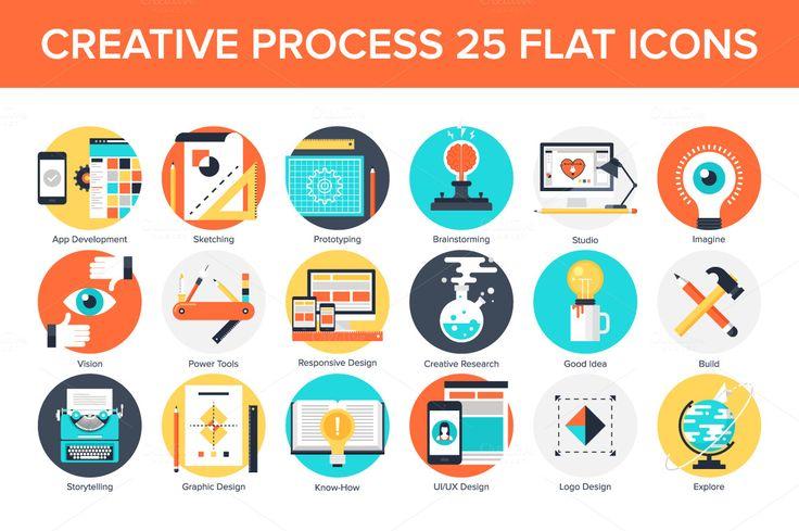 Creative Process by vasabii on Creative Market