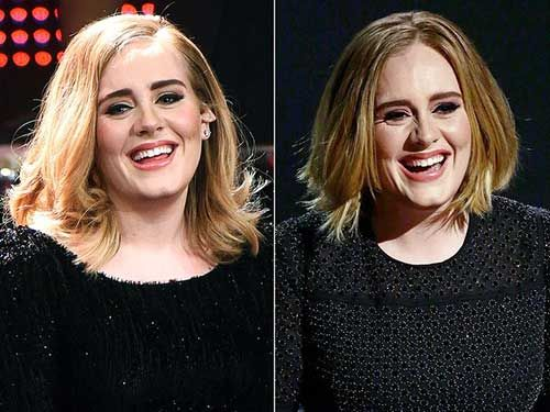 20 Popular Celebrity Short Hairstyles: #2. Adele Short Hair