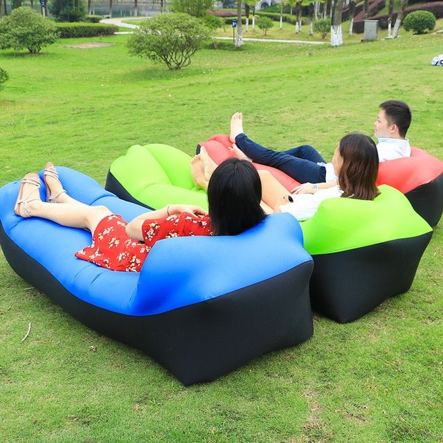 Astounding Lazy Bed Sleeping Bag Air Sofa Fast Inflatable Air Lounge Pabps2019 Chair Design Images Pabps2019Com