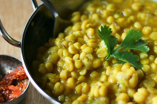 yellow pea dahl by @Monica Shaw