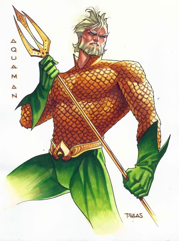 Aquaman by Thony Silas <<<< This will always be Aquaman to me.