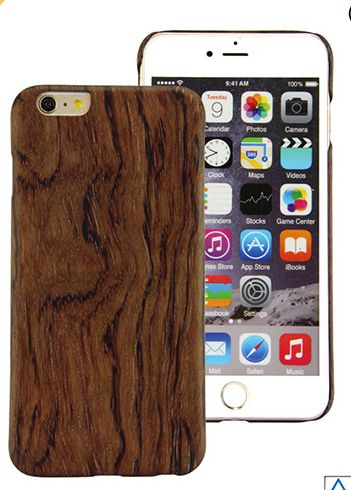 Wood phone cover