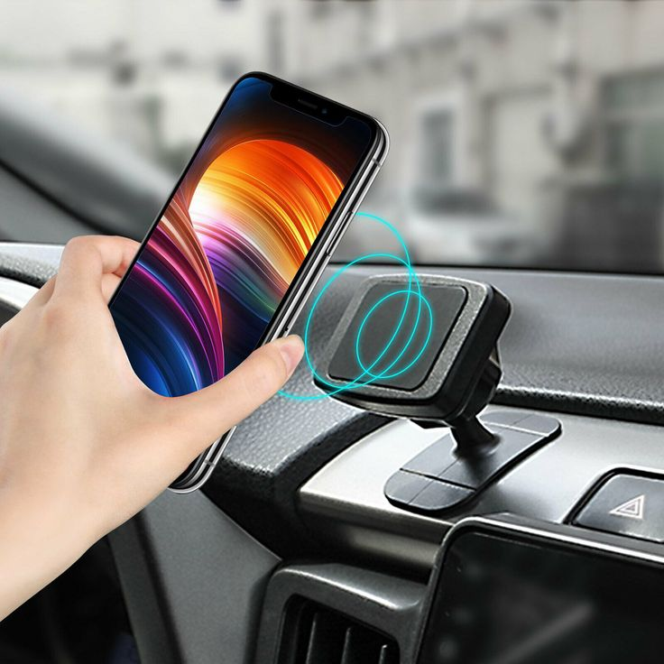 Car charger phone holder gold chargers power