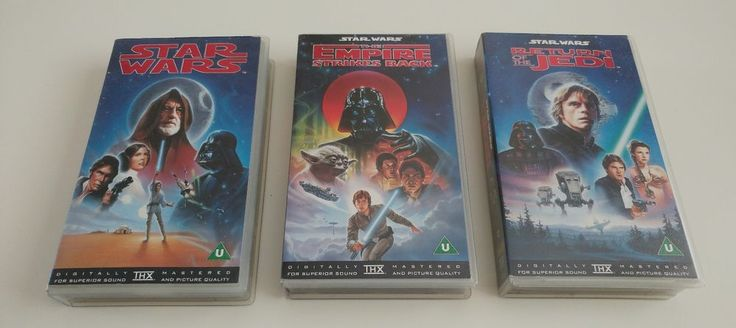 Rare OOPS Star Wars Trilogy Sci-Fi Cbs Fox Vhs Tape Video trilogy | DVDs, Films & TV, VHS Tapes | eBay!
