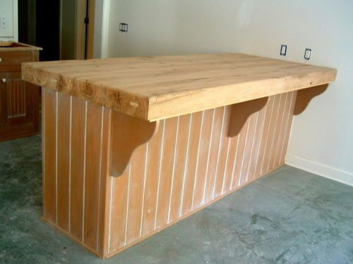 Countertop Or Tabletop Made To Order From Oak Reclaimed Barn Beams