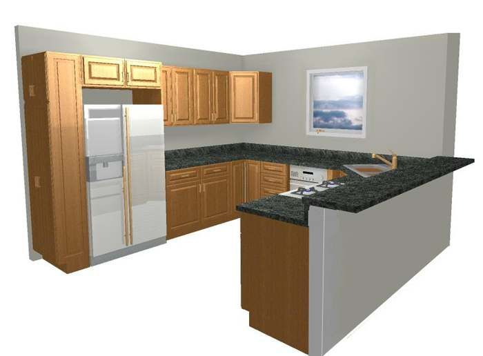 1000 ideas about u shaped kitchen on pinterest small u for U shaped kitchen designs layouts