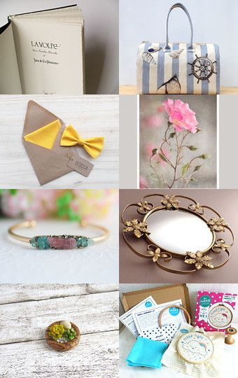 Spring is... by Silvia Paparella on Etsy--Pinned with TreasuryPin.com