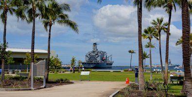 The Pearl Harbor Memorial, HI, USA, park-museum, Hawaii, USA, photo