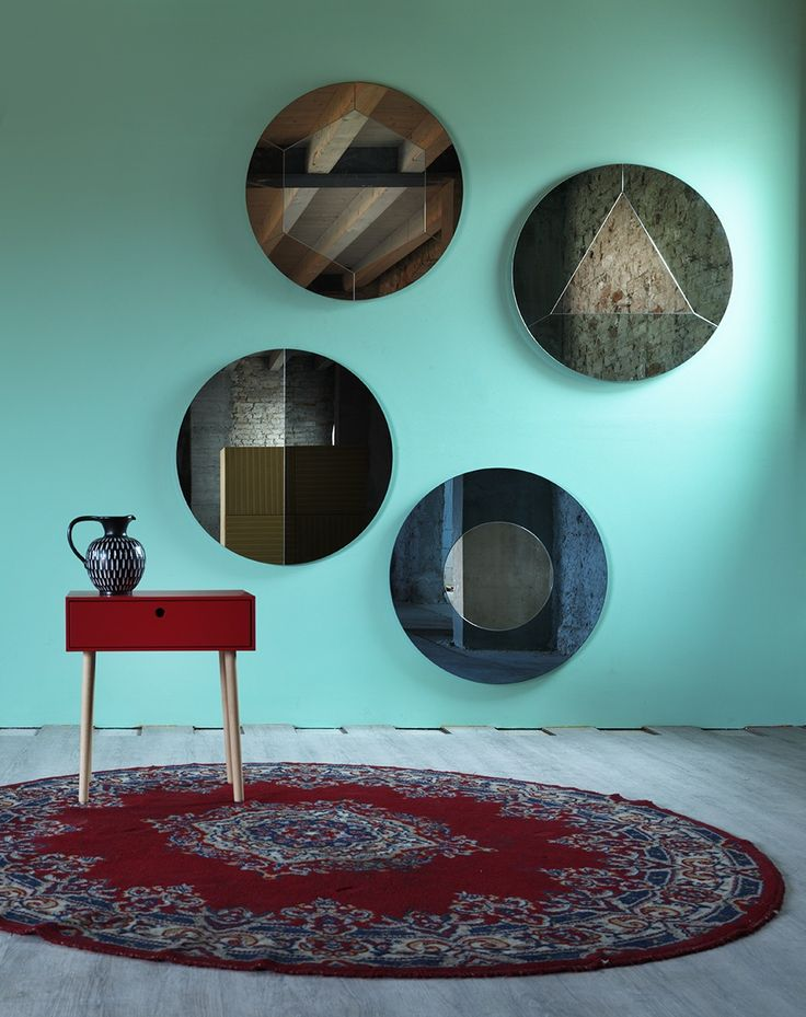 Tropicana mirror design Matteo Zorzenoni
