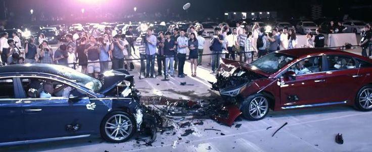 Te digo que son igual de seguros. ¿No lo crees? ¿A que estrello un coche contra otro? - Contenido seleccionado con la ayuda de http://r4s.to/r4s