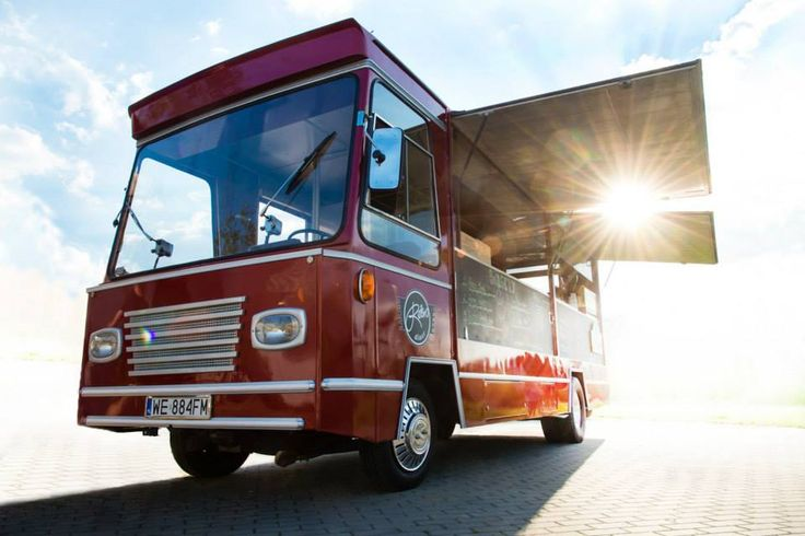 Retro Diner Food Truck
