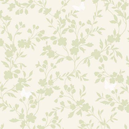 Fine Decor Saskia Wallpaper - Green