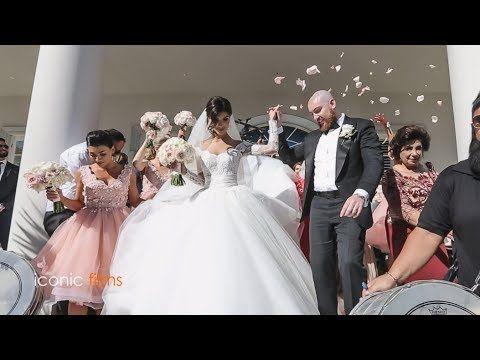 The groom meets his bride Khadijeh Mehajer  in the most lavish way! LEBA...