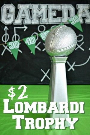 $2 DIY Lombardi Trophy
