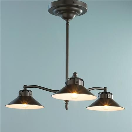 Industrial Inspired Downlight Kitchen Chandelier