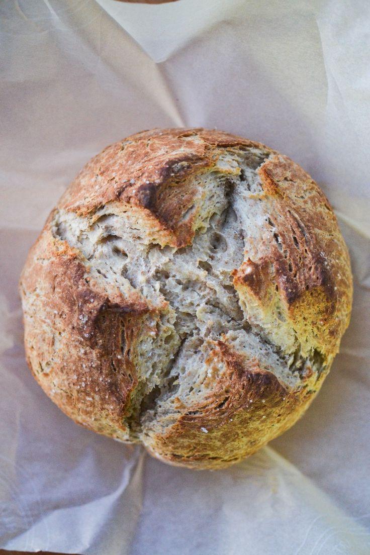 Honey Whole Wheat Irish Soda Bread