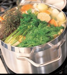 This soup is awesome!! Really flavorful and makes tons-great for freezing. Friends and family swear that it has cured their colds and sniffles.