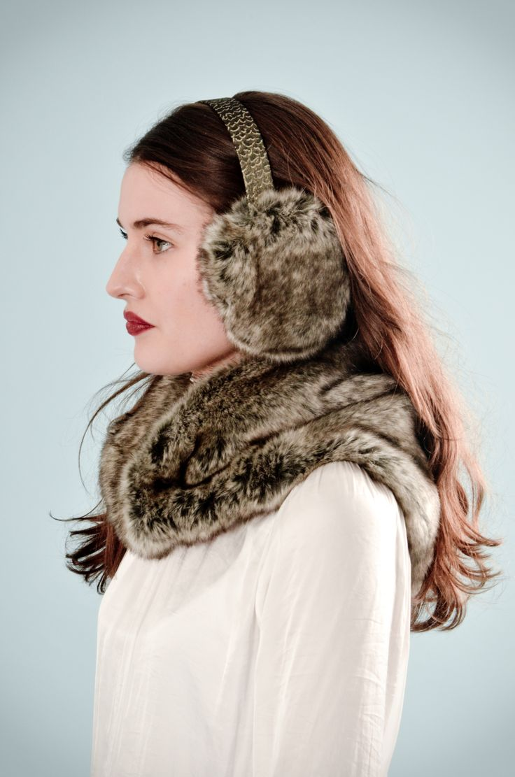 Ear Muffs and Neckerchief By Blanche in the Brambles