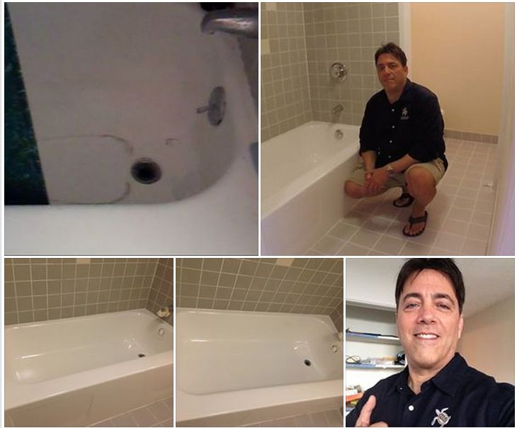 Hawaii House Flipping 101: Here Is The Ratty Old Bathtub, BEFORE And AFTER
