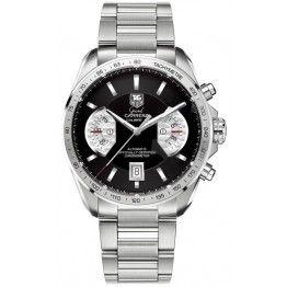 Best TAG Heuer Grand Carrera Calibre 17 Automatic Chronograph 43 mm Watch CAV511A.BA0902