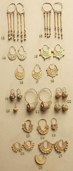 byzantine earrings.
