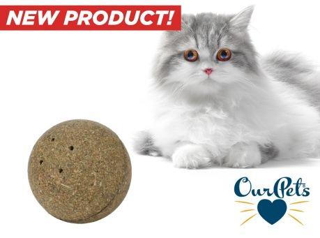 Image of Corknip Squeaky Sphere Catnip Ball (2-Pack)