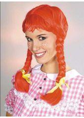 http://www.decodefete.com/4848-1-perruque-fifi-rousse.html Fifi Brindacier, vous connaissez ? Transformez vous avec cette perruque rousse... #perruque #deguisement