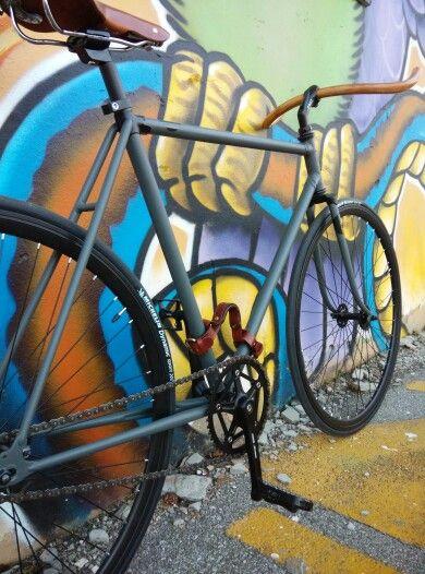 My bike, iron&wood