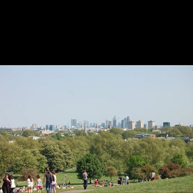 London from Primrose Hill.