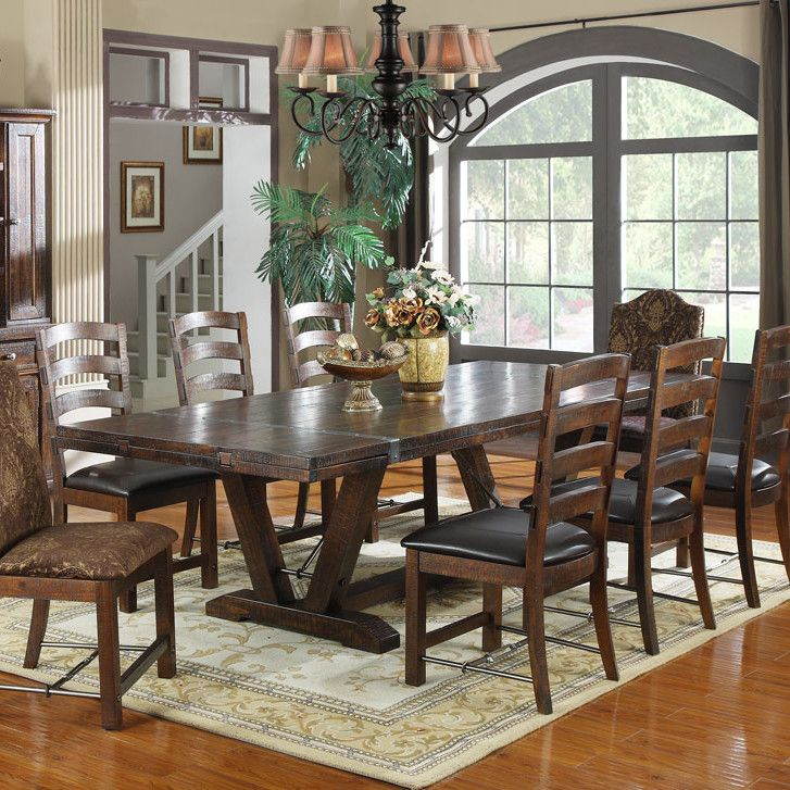 31 best images about flex space on pinterest butcher for Dining room table 4 person