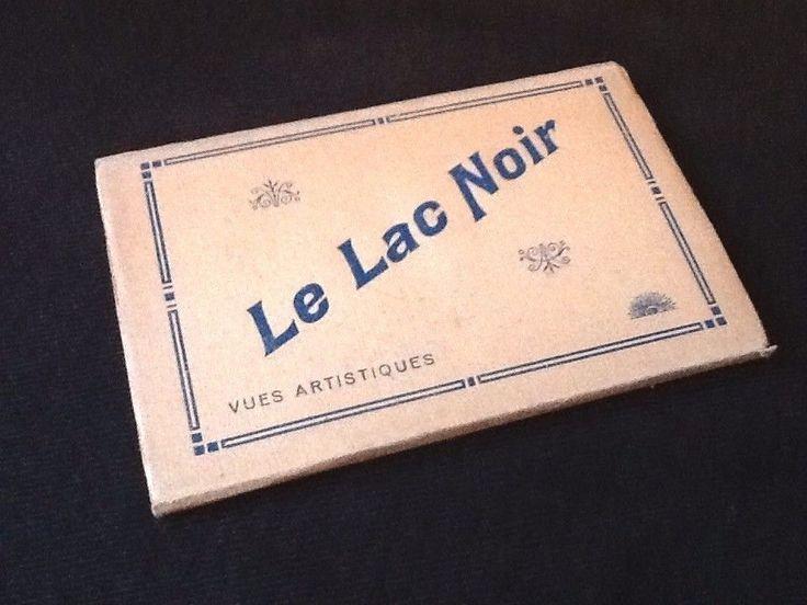 Le Lac Noir (Vosges)   Vues Artistiques Album composé de 10 cartes postales