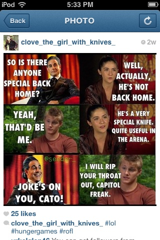 97 best team clato 3 images on pinterest hunger games catching i ship clato and all but this is just too damn funny the names clove funny hunger gameshunger voltagebd Gallery