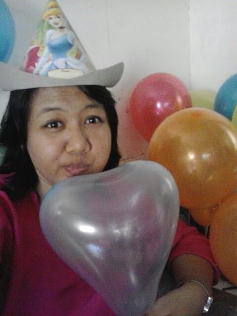 #Me #birthday party #balloon