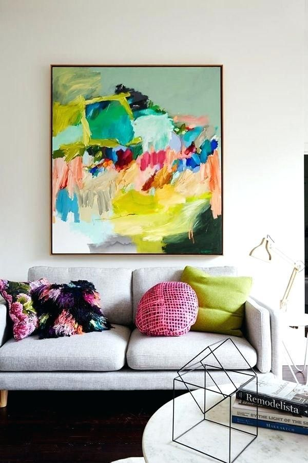 Energetic And Colorful Living Room Design Ideas Home Art Modern