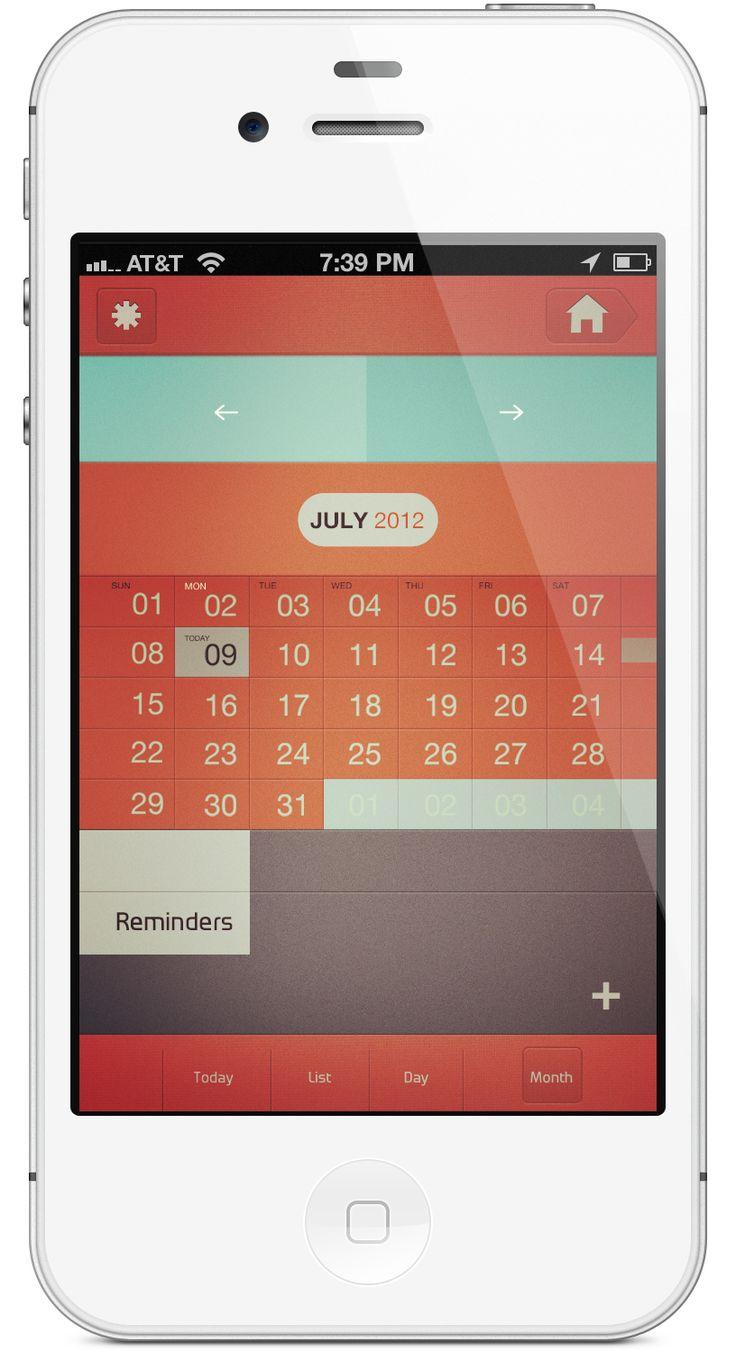 Calendarwhiteiphoner