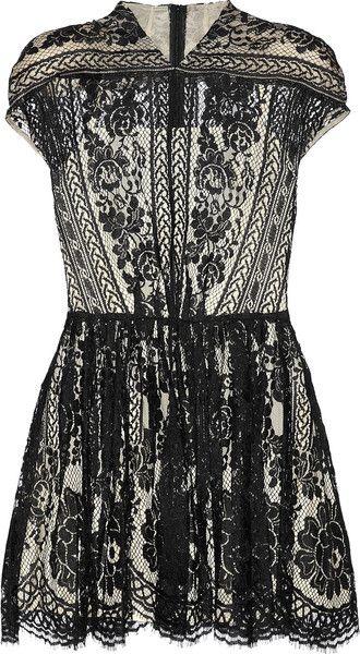 Wiccan Lace Mini Dress