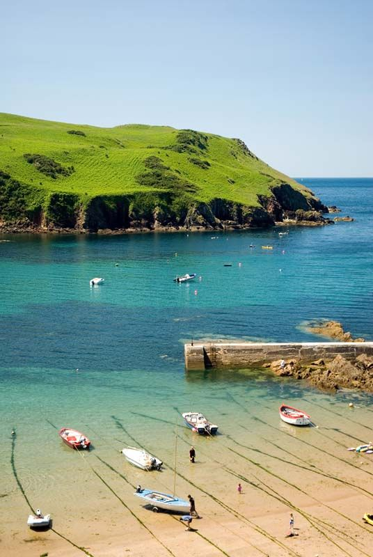 Hope Cove, Devon     #England #travel #holiday